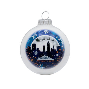 Cleveland Winter Sky Ornament
