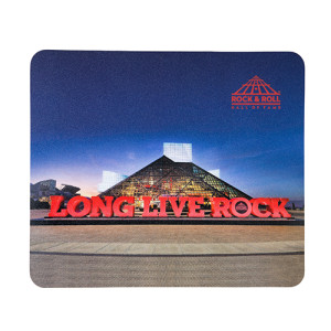 Long Live Rock & Building Mousepad