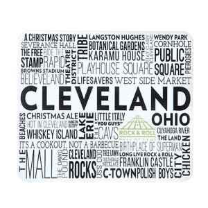 Cleveland Chit Chat Mousepad