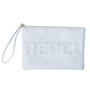 Wristlet Rebel White
