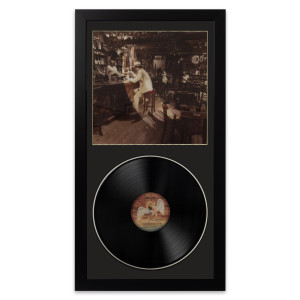 Led Zeppelin In Through The Out Door Wall Album