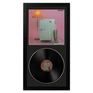 The Cure Three Imaginary Boys Wall Album