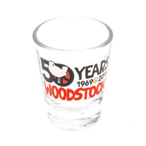 Woodstock 50th Anniversary Shot Glass