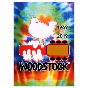 Woodstock 50Th Anniversary Tie Dye Postcard