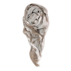 Double Knot Scarf In Greige