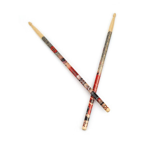 Retro Tattoo Drumsticks