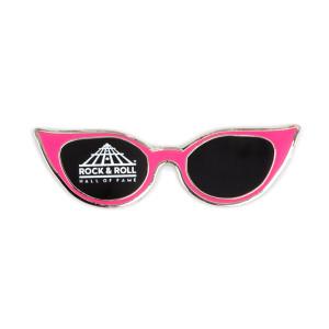 Pink Cateye Glasses Magnet