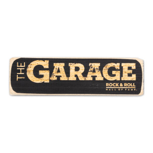 The Garage Wooden Magnet