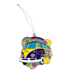 Hippie Van Ornament