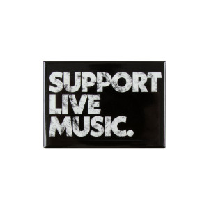 Support Live Music Magnet