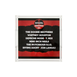 2020 Inductee Lucite Tray