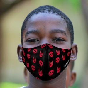 Youth Headbanger Face Mask