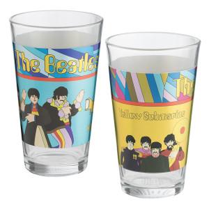 The Beatles Yellow Submarine Pint Set
