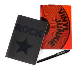 Vinyl Junkie Journal Set