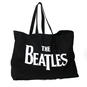 The Beatles Logo Canvas Tote