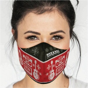 Adult Holiday Sweater Face Mask