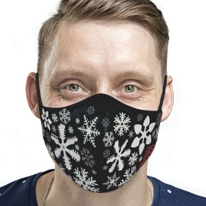 Adult Snowflakes Face Mask