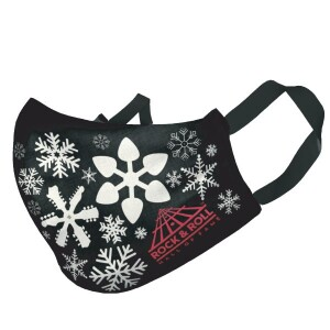 Youth Snowflakes Face Mask