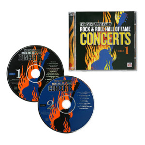 THE 25TH ANNIVERSARY ROCK & ROLL HALL OF FAME CONCERTS CD SET - NIGHT 1