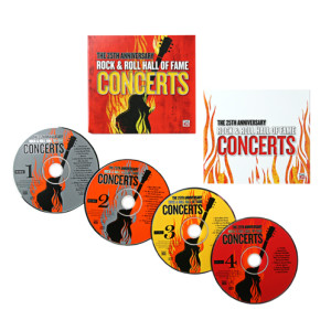 The 25Th Anniversary Rock & Roll Hall Of Fame Concerts 4 Cd Set