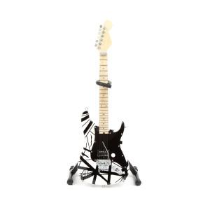 Eddie Van Halen Black & White Mini Guitar