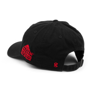 ROCK & ROLL HALL OF FAME BLACK TWILL CAP