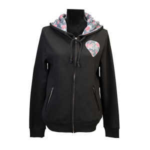 Ladies Guitar Pick Hoodie