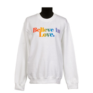 Believe In Love Fleece Crew