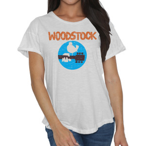 Ladies Woodstock And Bird T-Shirt
