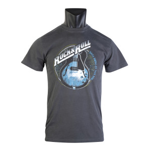 Rock & Roll Hall Of Fame Circle Guitars Unisex T-Shirt