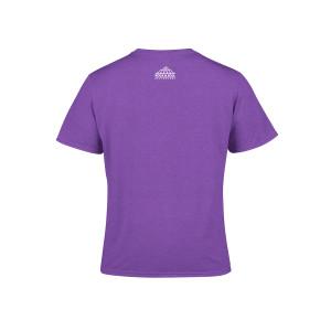 Girls Flower Child Youth Purple T-Shirt