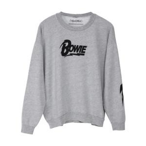 Bowie Grey Sweatshirt with Bowie Logo