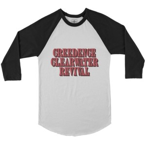 Creedence Clearwater Revival Baseball T-Shirt