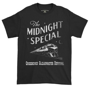 Creedence Clearwater Revival Midnight Special T-Shirt - Classic Heavy Cotton
