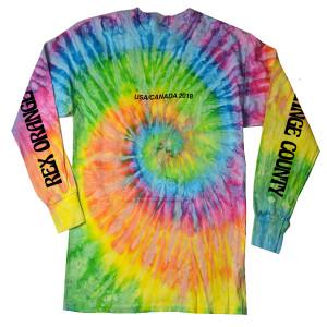 2018 Tour Long-Sleeve T-shirt - Tie-Dye