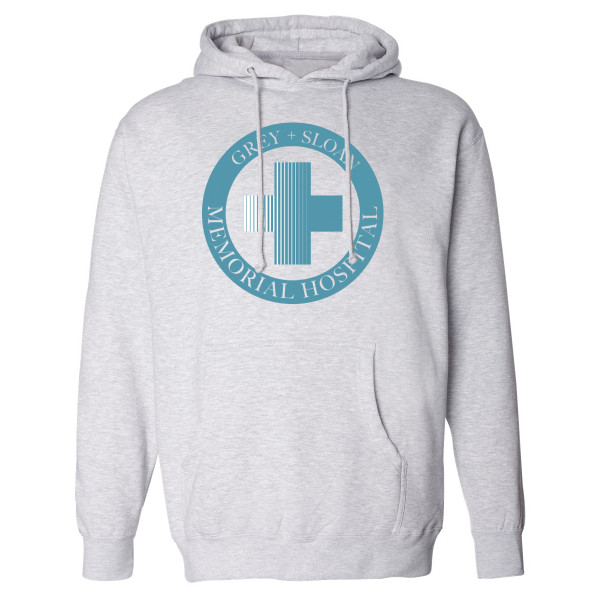 Grey S Anatomy Hospital Logo Pullover Hoodie Shop The Abc Official