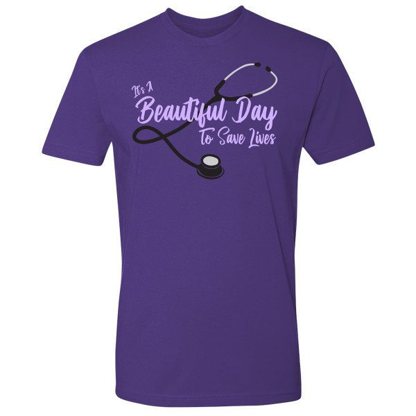 12f333df Grey's Anatomy Beautiful Day T-Shirt   Shop the ABC Official Store