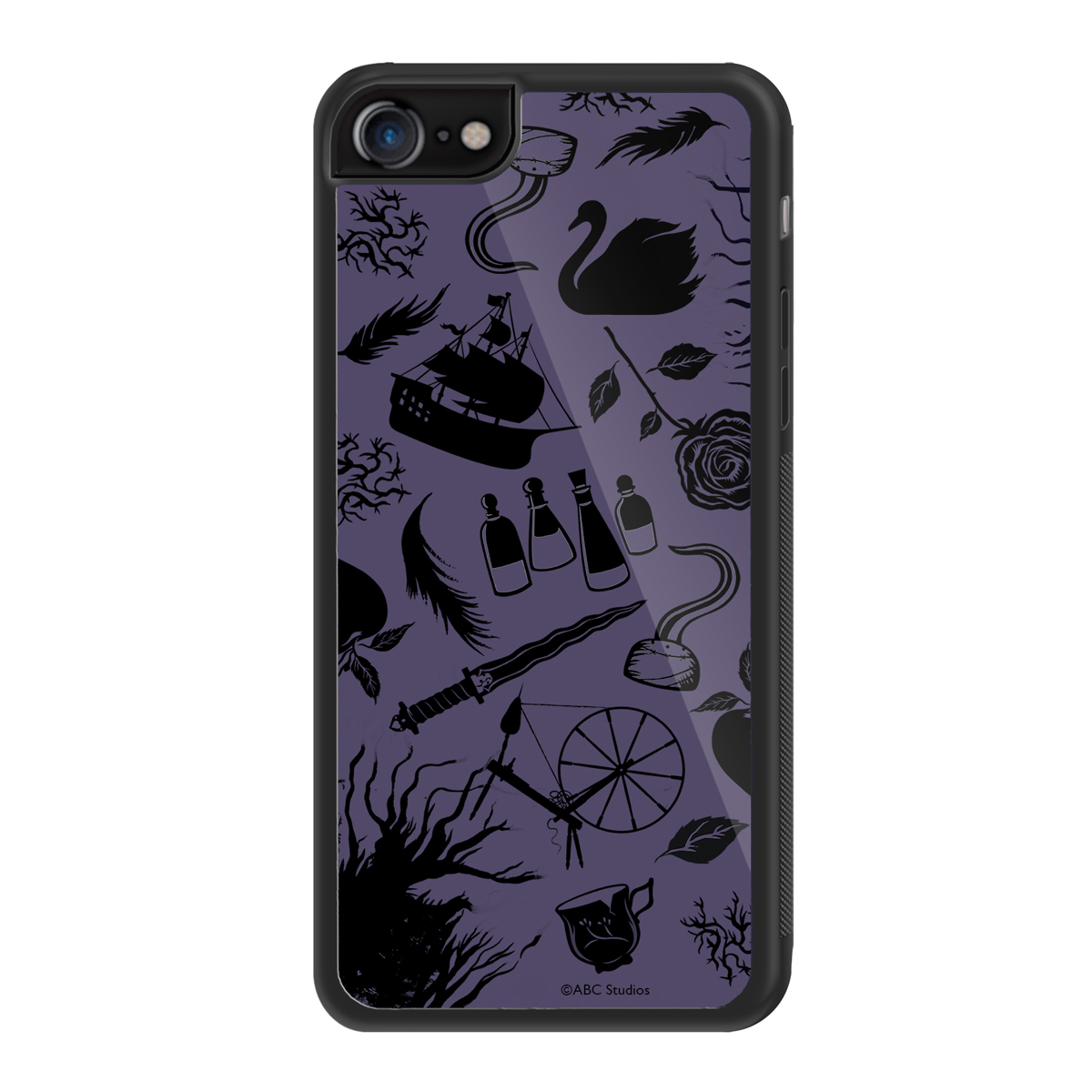 Once Upon A Time Icons iPhone Case 8