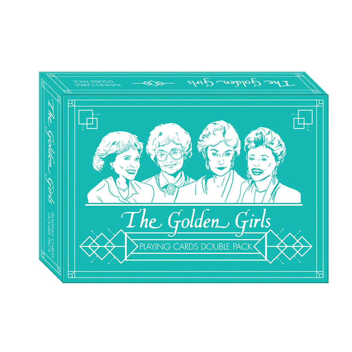 The Golden Girls Playing Card (Premium Set)