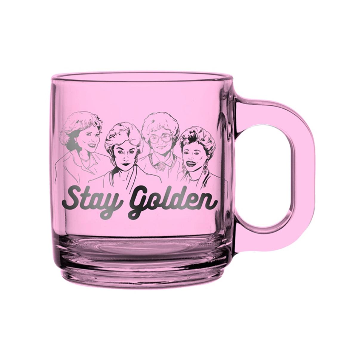 The Golden Girls Glass Coffee Mug