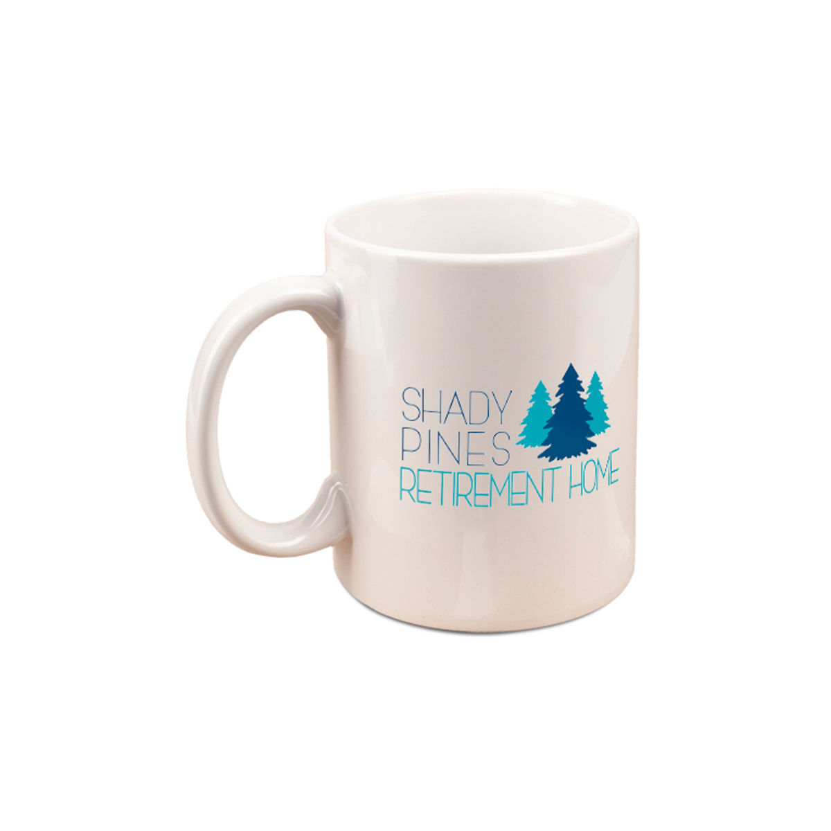The Golden Girls Shady Pines Mug