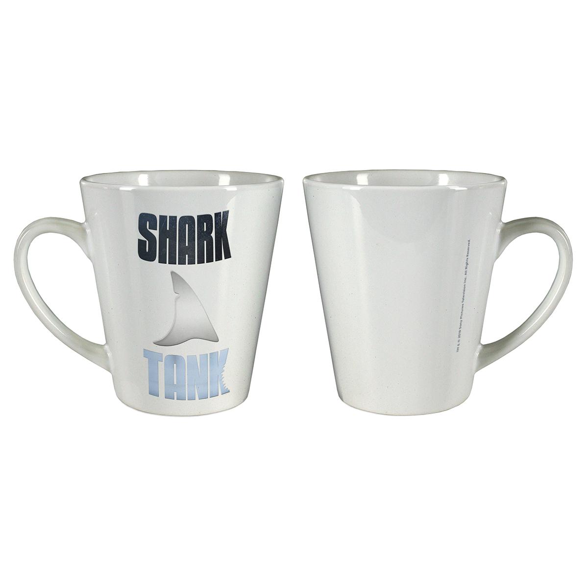 Shark Tank Logo Latte Mug