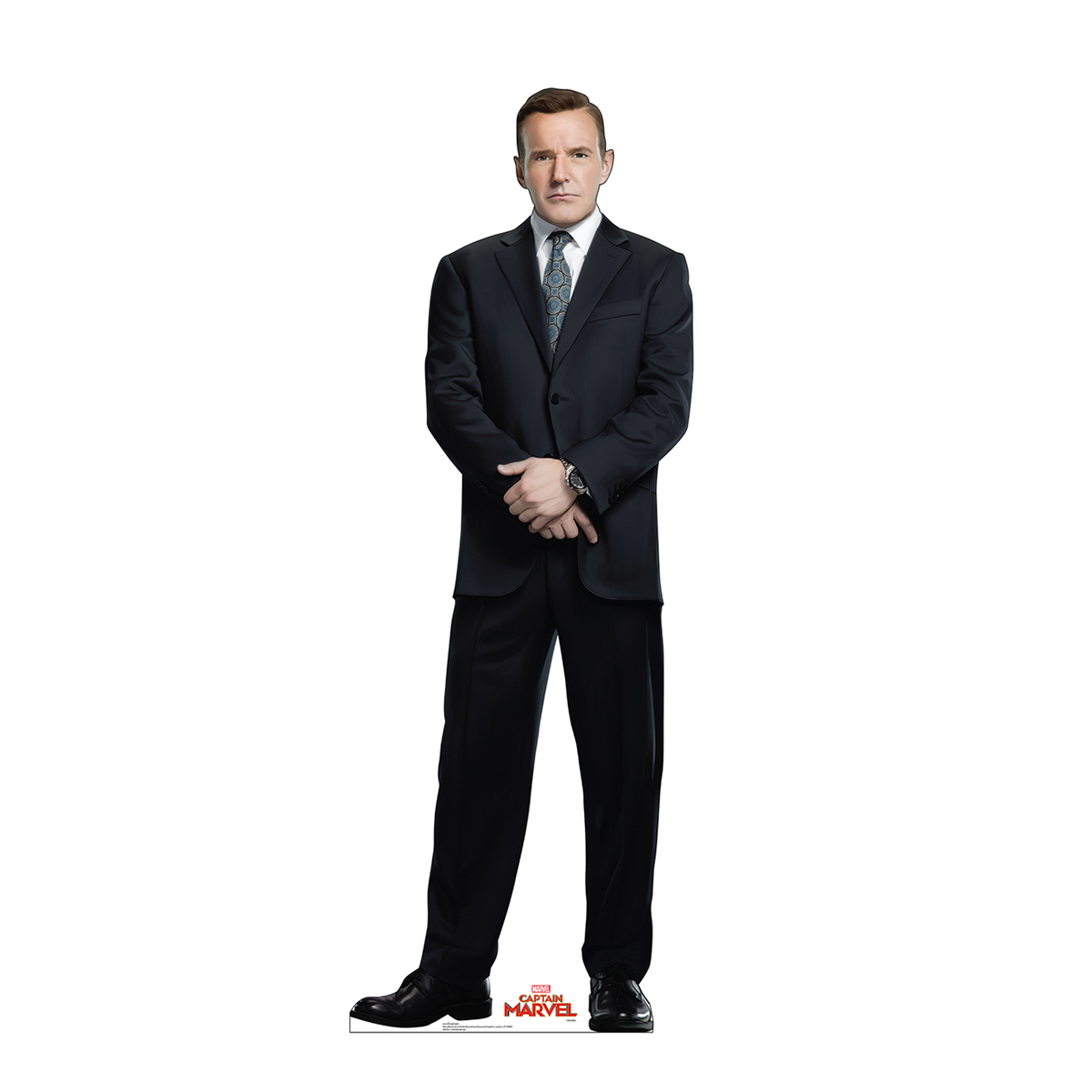 Captain Marvel Coulson Standee