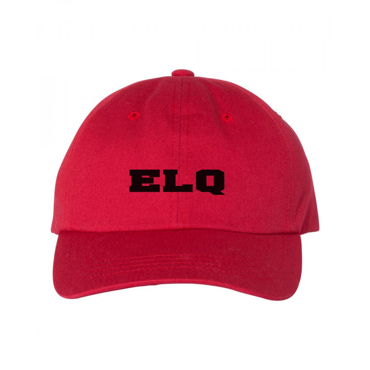 General Hospital ELQ Baseball Hat (Red)