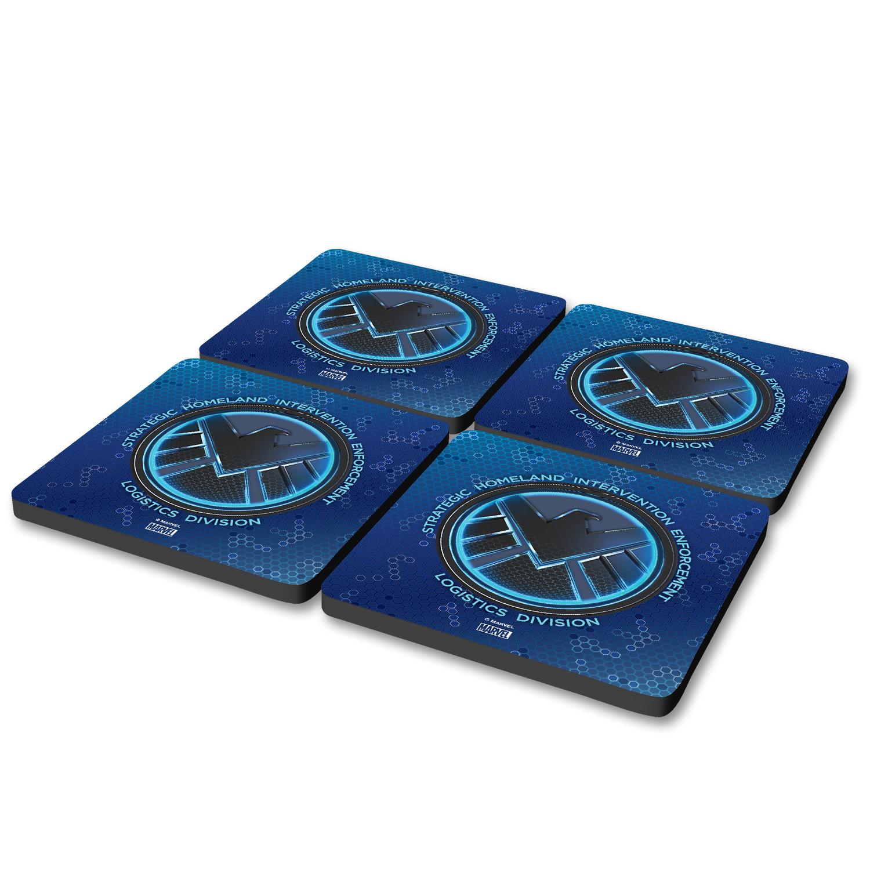 Marvel's Agents of S.H.I.E.L.D. Tech Emblem Coasters (Set of 4)