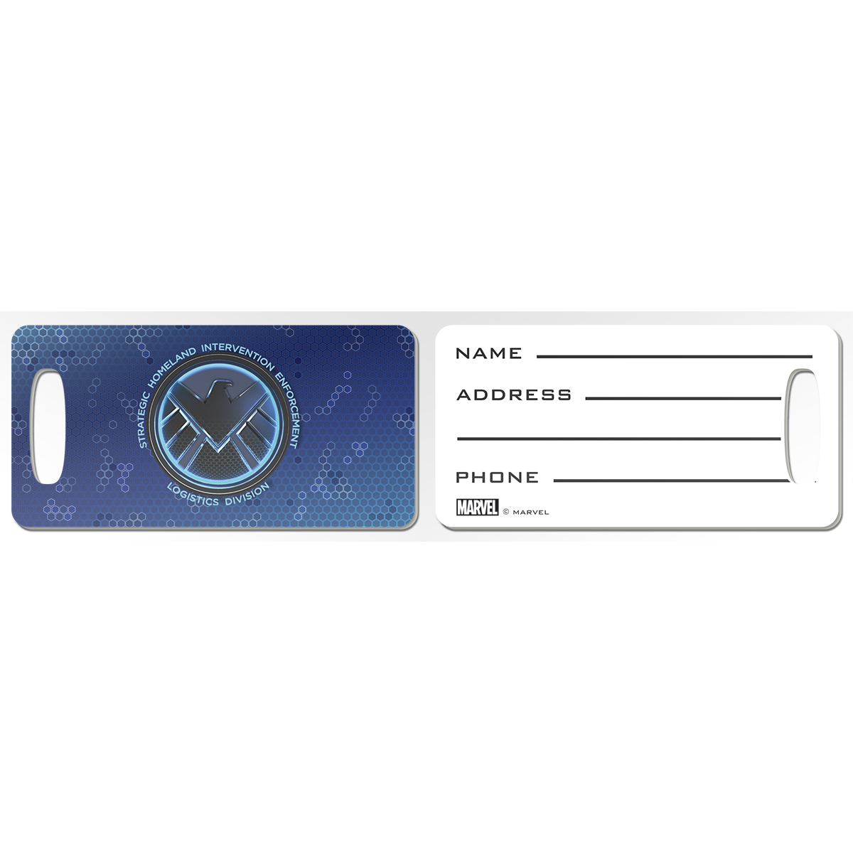Marvel's Agents of S.H.I.E.L.D Emblem Luggage Tag