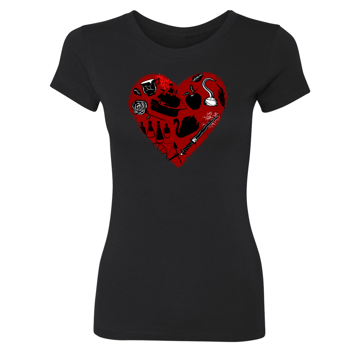 Once Upon A Time Heart Icon Women's T-Shirt