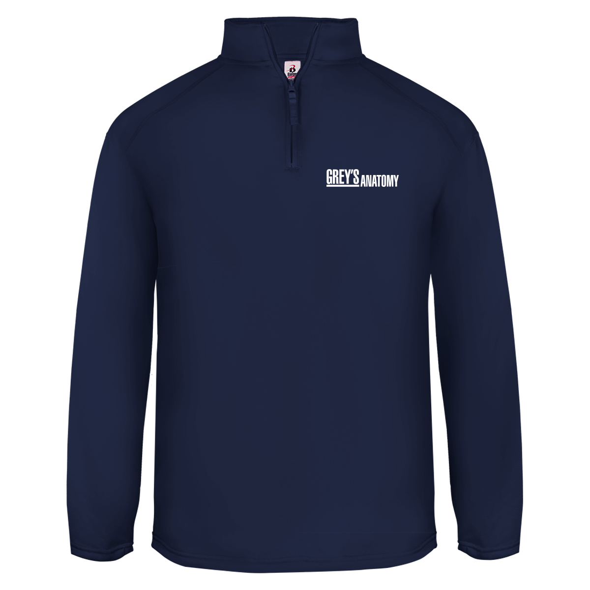 Grey's Anatomy Logo Fleece Quarter Zip