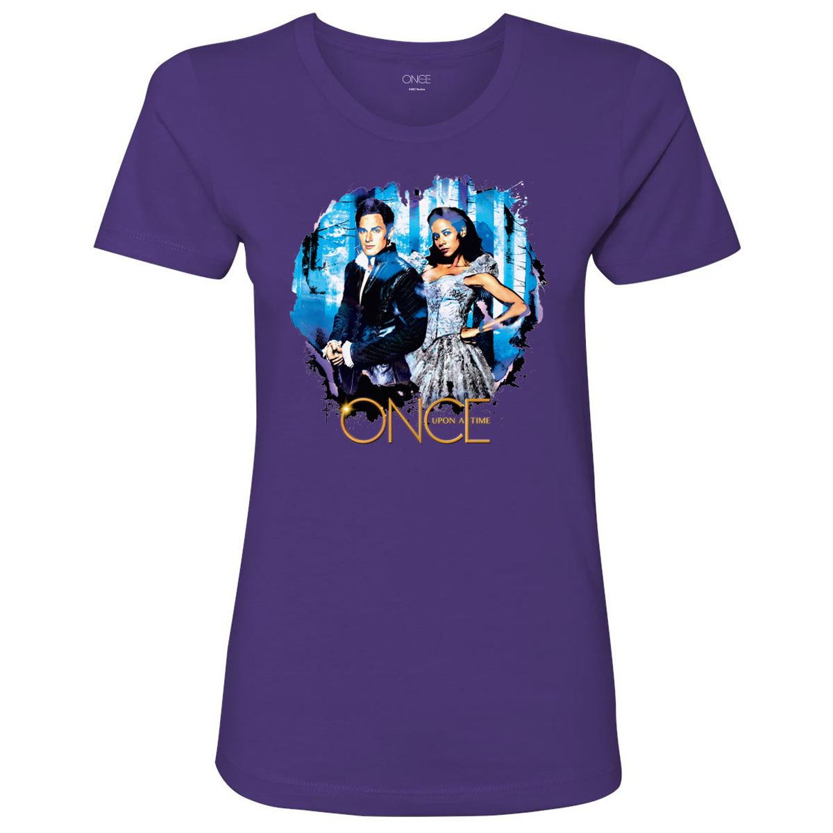 Once Upon A Time Cinderella & Prince Charming Women's T-Shirt