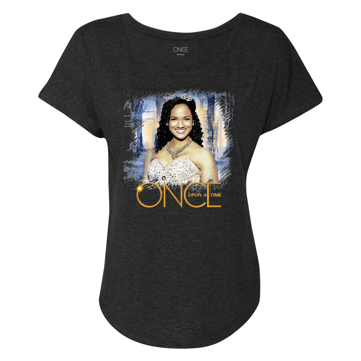 Once Upon A Time Tiana Women's Dolman T-Shirt